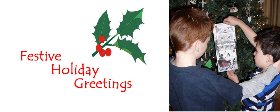 Festive Holiday Greetings